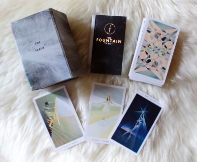 fountain tarot deck and guide book