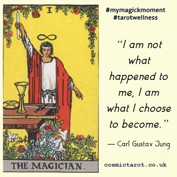 I am not what happened to me, I am what I choose to become. - Carl Jung