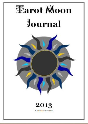 Tarot Moon Journal Front Page