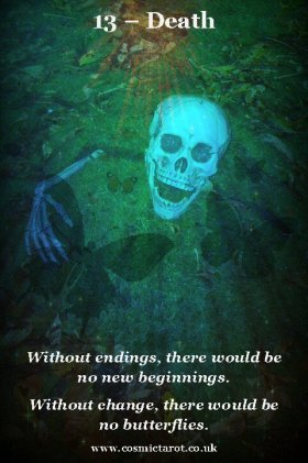 Death Tarot of Quotes