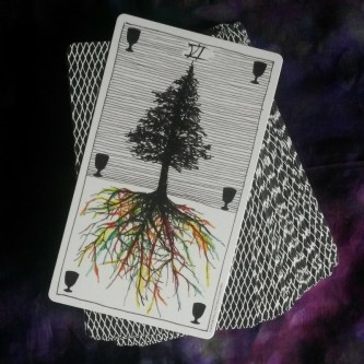 six of cups wild unknown tarot