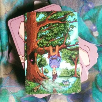 hanged man kings journey tarot