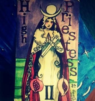 high priestess mermaid tarot
