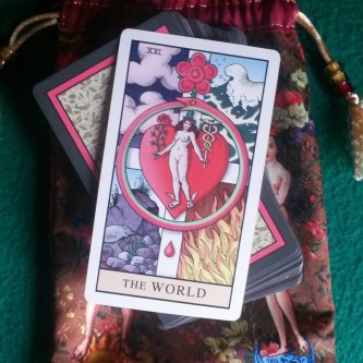 the world alchemical tarot