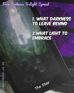 from darkness to light tarot spread