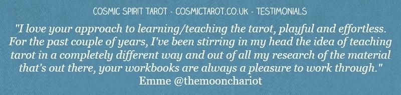 cosmic spirit tarot testimonial tarot ebooks