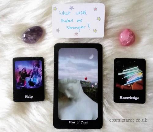 cosmic faery tarot and cosmic journaling oracle