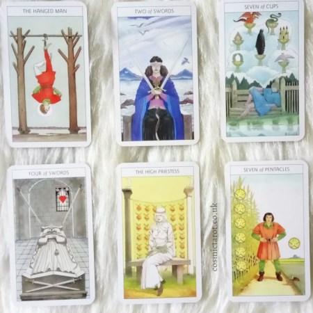 tarot contemplation cards
