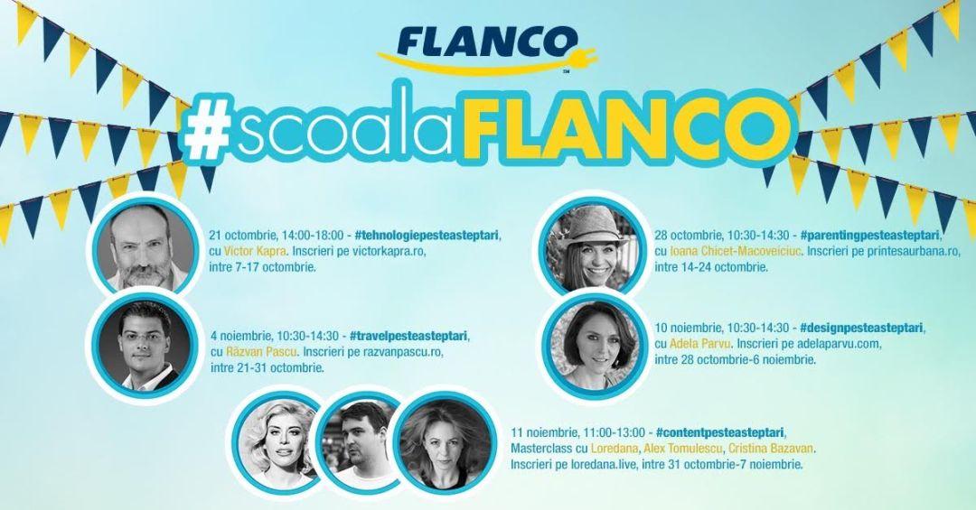 Școala Flanco 2016 calendar
