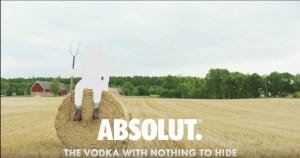 Reclama ABSOLUT Vodka