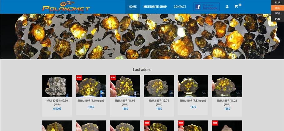 PolandMET Meteorites