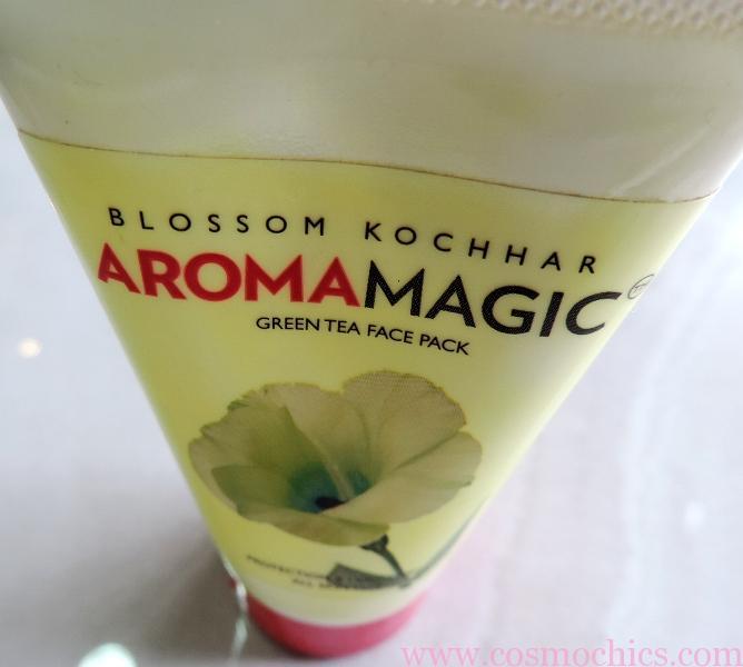Blossom Kochhar Aroma Magic Green Tea Face Pack: Review