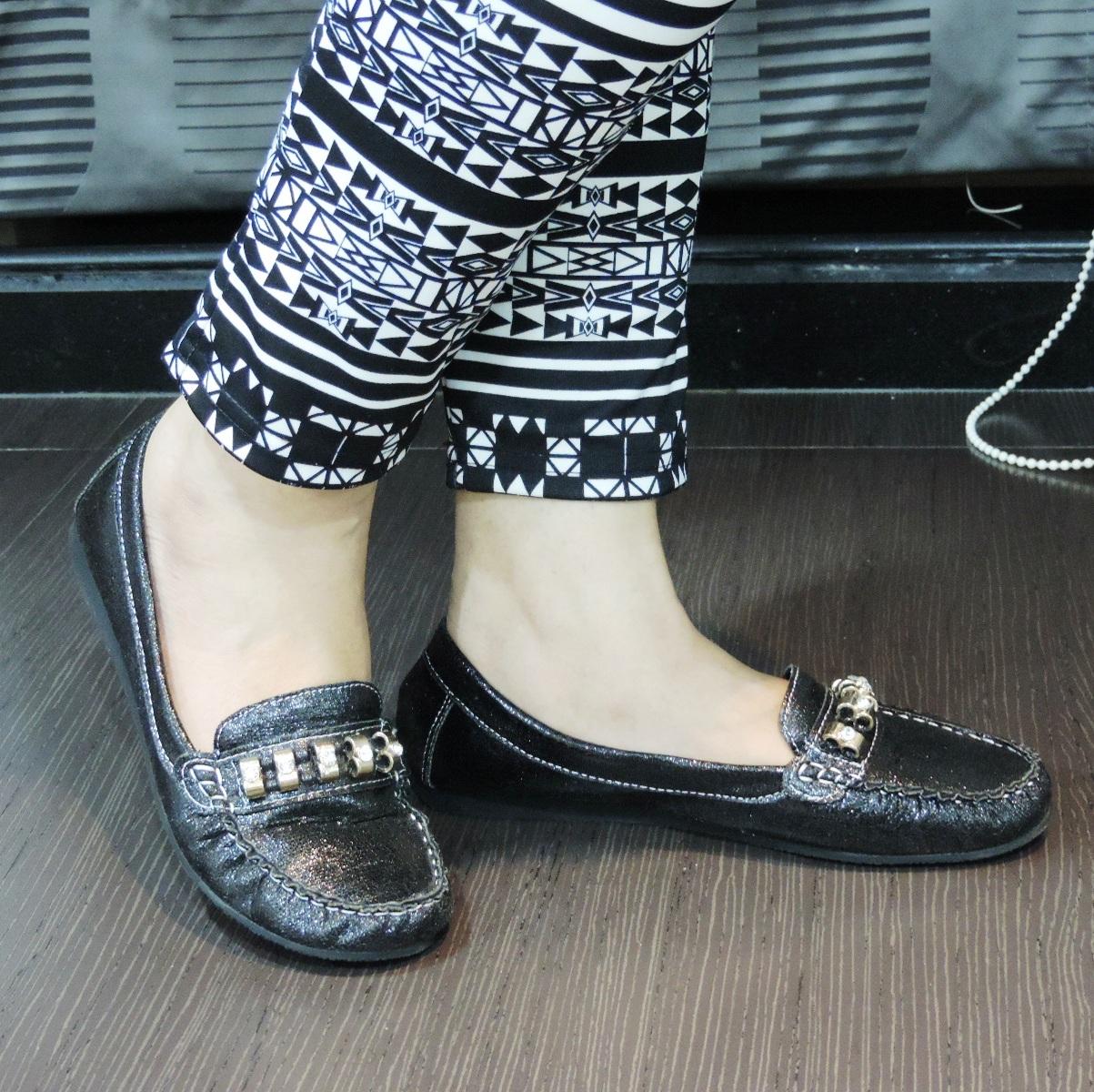 Pavers England Black shoe