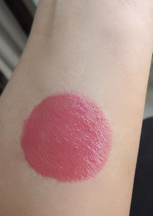 lakme lip tint in mauve hue