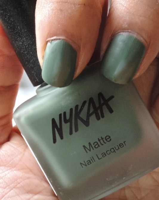 nykaa matte nail polishes