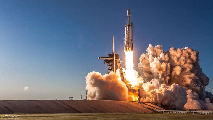 El Falcon Heavy, el coet més potent actualment