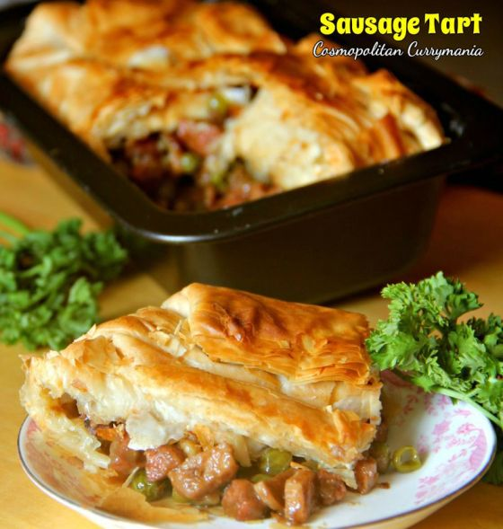 Baked until golden and flaky, this sausage tart recipe is easy and delicious! Kickstart this fabulous New Year with a drool-worthy breakfast.