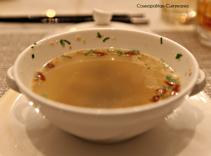 Spicy Lemon Coriander Soup