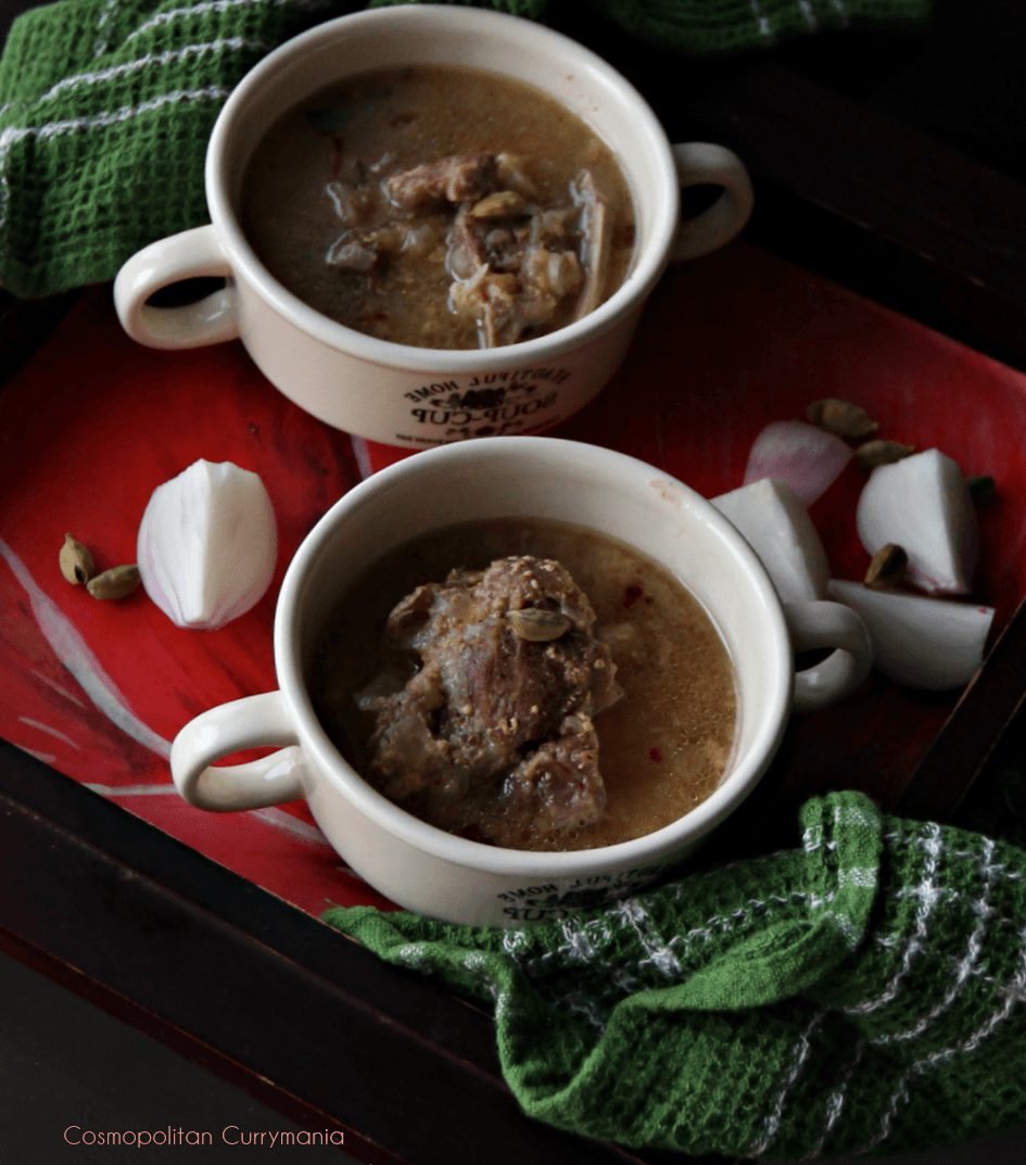 best mutton soup recipe