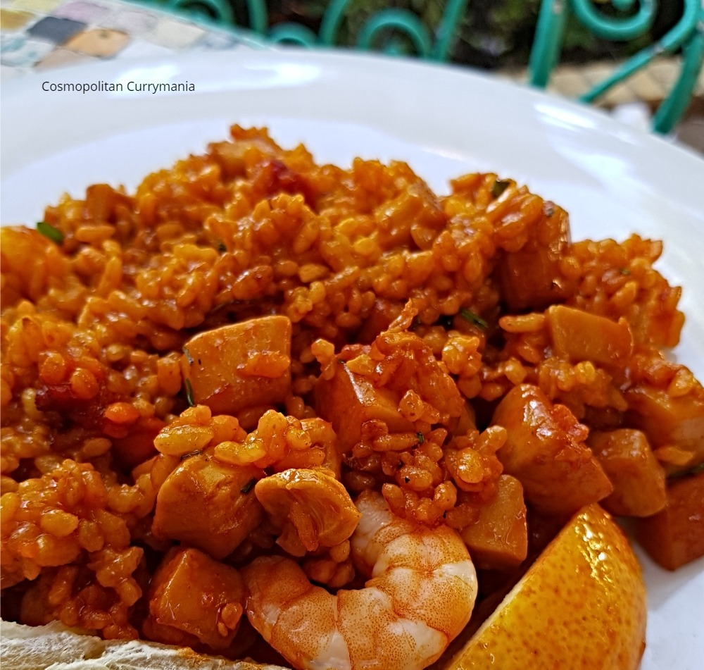 Paella de Marisco in Sevilla, Spain