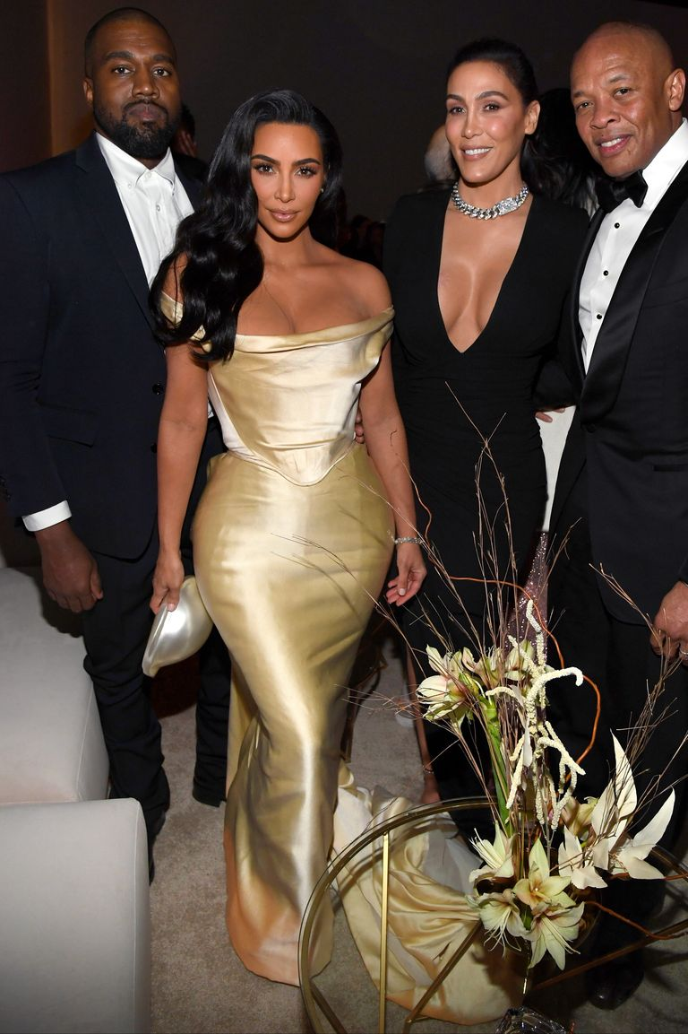 Kim Kardashian Wears Vintage Wedding Dress For Diddy S 50th Birthday Party Celebs Fashion Cosmopolitan Middle East