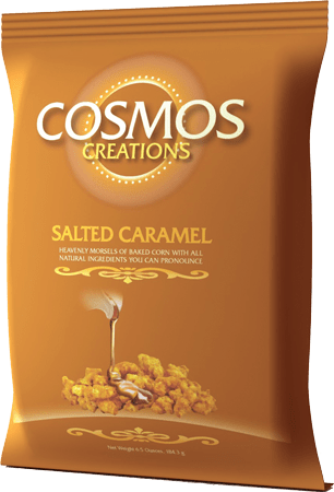 Cosmos Creations Salted Caramel Corn Snacks