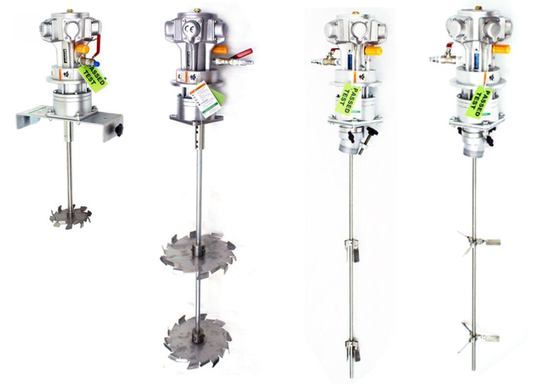 Vane Type Air Motor Animation