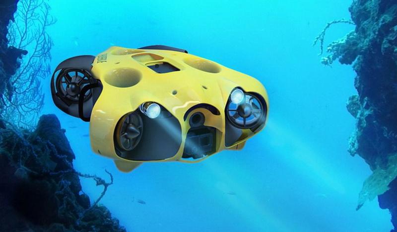 Γνώρισε τα drones του νερού