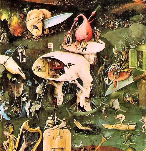 La Vision de l'Enfer, de Jérôme Bosch.