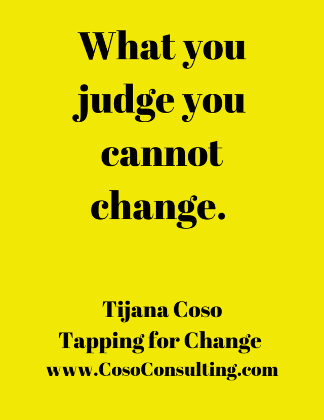We All Judge- Tapping for Judgement
