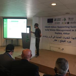 Sostegno alla gestione sostenibile dei rifiuti solidi a Jurd al-Kaytee