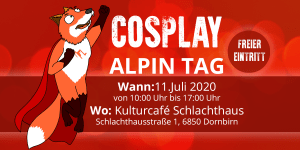 Cosplay Alpin Tag