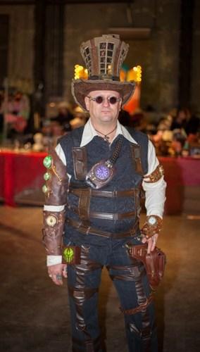 steampunk männer kostüm