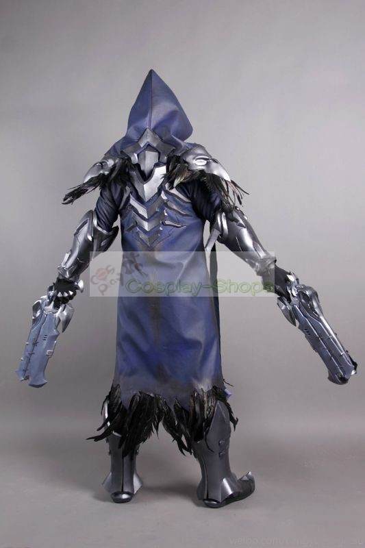 Custom Cheap Overwatch Nevermore Reaper Full Cosplay Costume In Overwatch Reaper For Sale Online