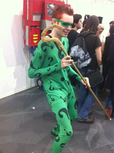 Cosplay Island | View Costume | JakeX - The Riddler