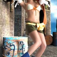 Rikku - Kingdom Hearts