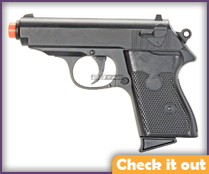 Walther PPK airsoft gun.