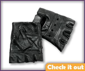 Black Fingerless Glove.