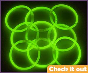 Green Glow Tubes.