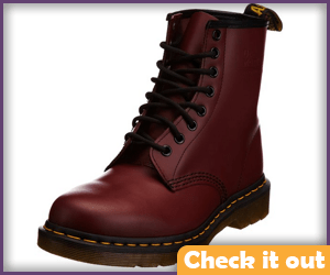 Red Leather Boots.
