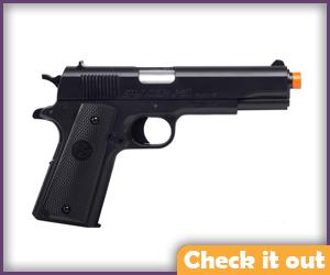 Airsoft handgun.