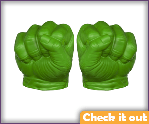 Gamma Green Hulk Fists.