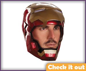 Retractable Mask.