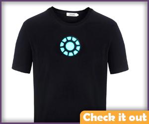 Arc Reactor Round T-Shirt.