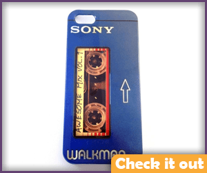 Cassette Player iPhone Case.