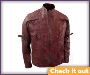 Star-Lord Faux Leather Jacket.
