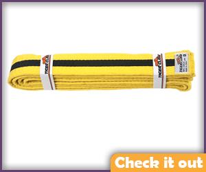 Yellow and Black Belt.