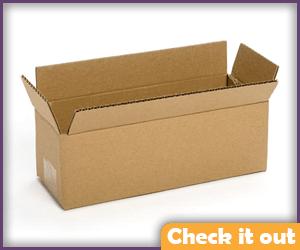 Cardboard Delivery Box.