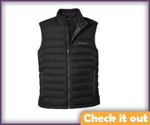 Black Puff Vest.