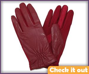 Red Gloves.